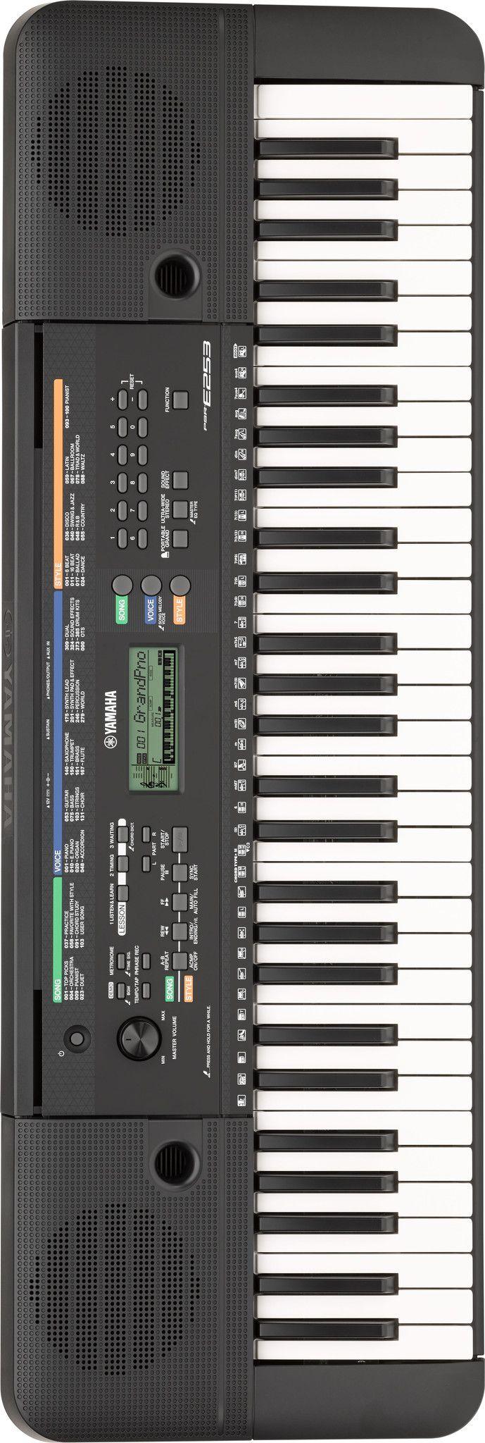 Yamaha PSR-E253 61-Key Portable Beginners Keyboard