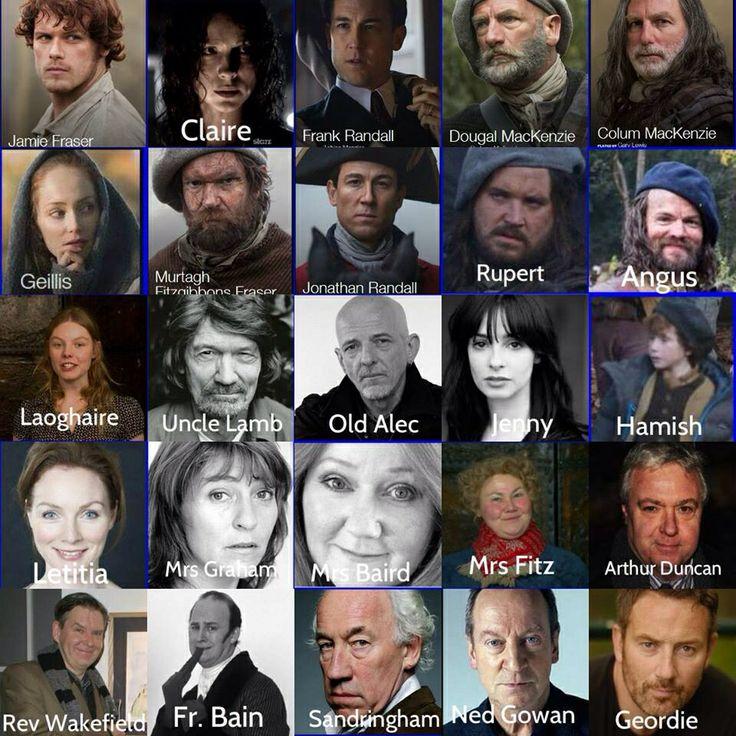 outlander cast outlander pinterest outlander