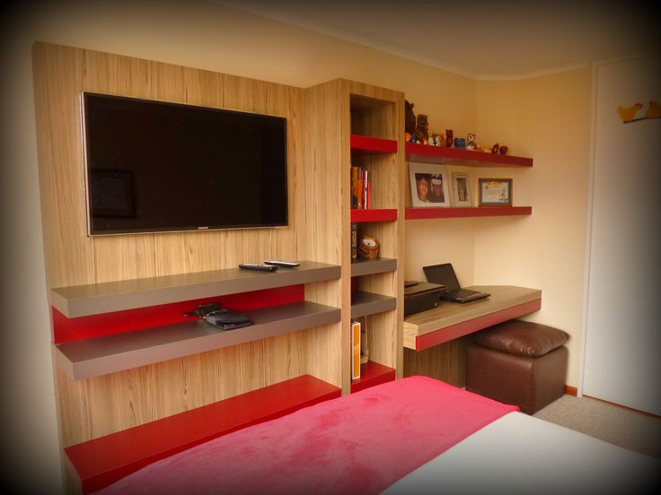 13 best images about mueble tv y escritorio para for Muebles para dormitorio