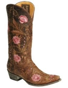 Old Gringo Julie Embellished Embroidery Cowgirl Boots - Snip Toe..love these boots..reminds me of when I lived in Dallas.