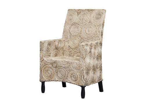 Woven Rattan Arm Chair Measurements 670 x 670 x 1050