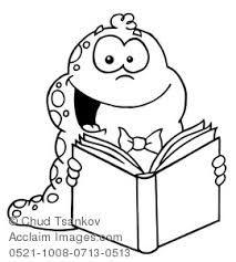 Αποτέλεσμα εικόνας για free reading clipart black and white
