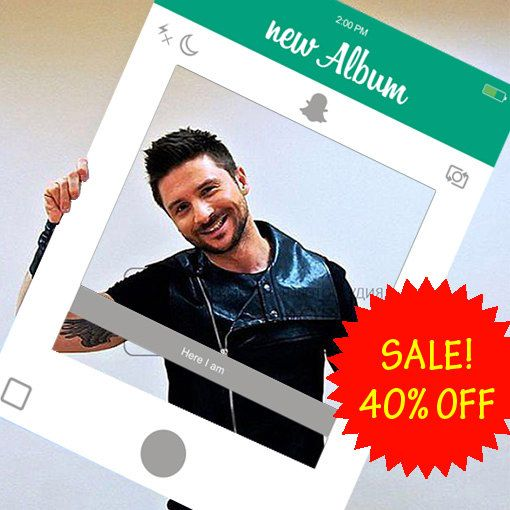 Snapchat Frame Editable PDF customized Snapchat by ArtAndStickers