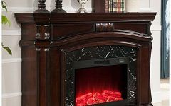 "Big Lots Electric Fireplaces 62"" Grand Cherry Electric Fireplace At Big Lots.4800 Btu 36"" Fire"