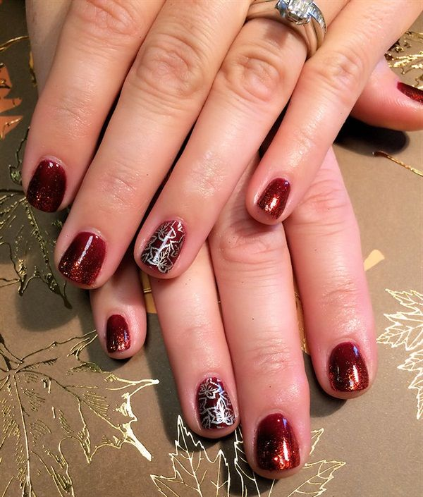 17 Best Images About Autumn Nail Art On Pinterest