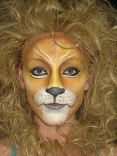 lion makeup - Google Search