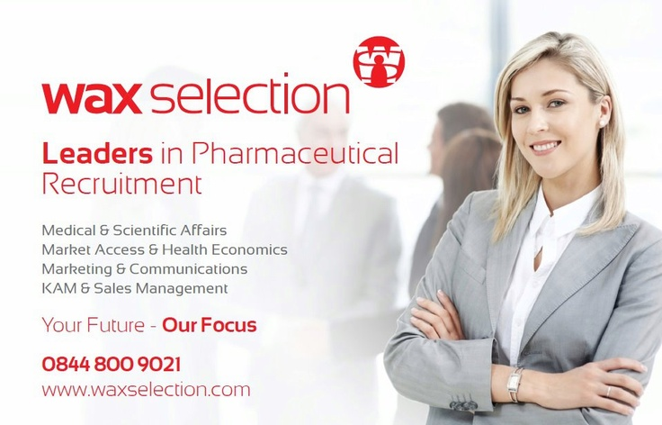 Wax Selection - Leaders in Pharmaceutical Recruitment