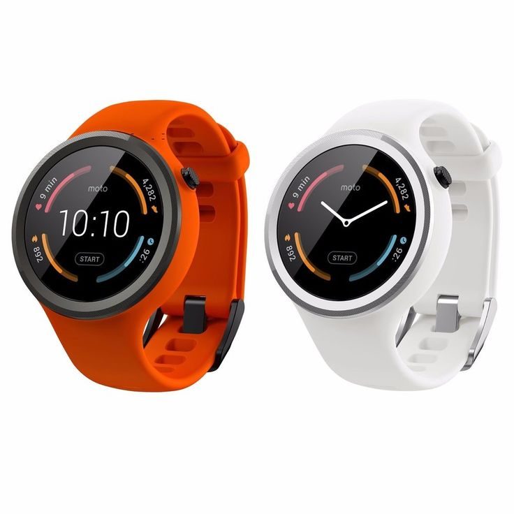 Motorola Moto 360 Sport Smartwatch 45mm 2nd Generation GPS 4GB - Silicone - New #Motorola