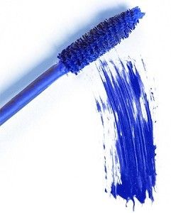 Blue mascara...I remember this!