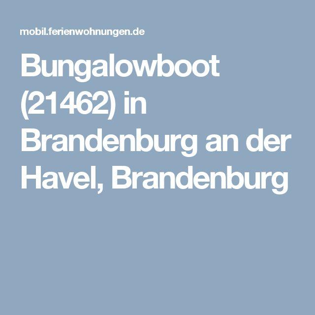 Bungalowboot (21462) in  Brandenburg an der Havel,  Brandenburg