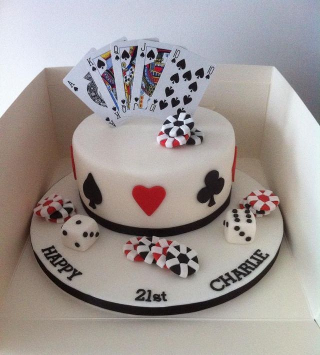 Best 75+ Casino Cakes images on Pinterest - Casino cakes ...