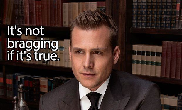 How to succeed at life according to Suits' Harvey Specter