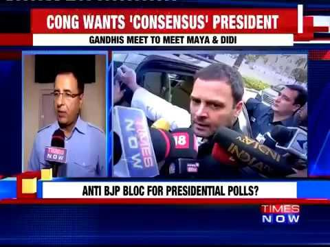 Congress President Sonia Gandhi In Overdrive To Unite Opposition For Presidential Polls #NewsInTweets
