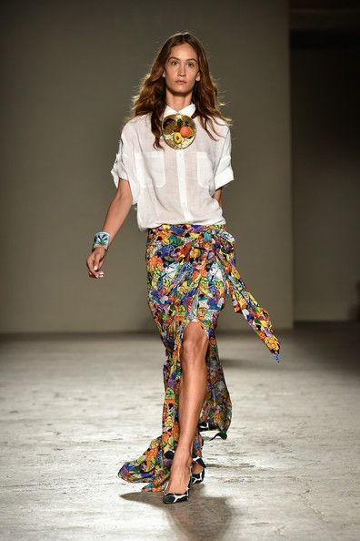 Stella Jean #SS15 #MFW #MilanFashionWeek