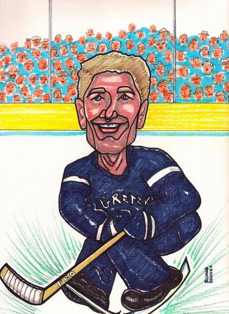 WAYNE GRETZKY When he was Fab Edmonton Oilers  NHL LNH Hockey   Suzanne-Berton.com has prints