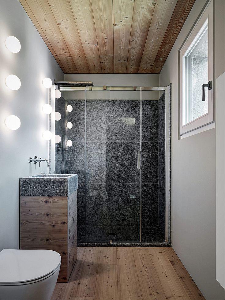 9 best Salle de bain moderne images on Pinterest Room, Bathroom - salle de bain moderne avec douche italienne