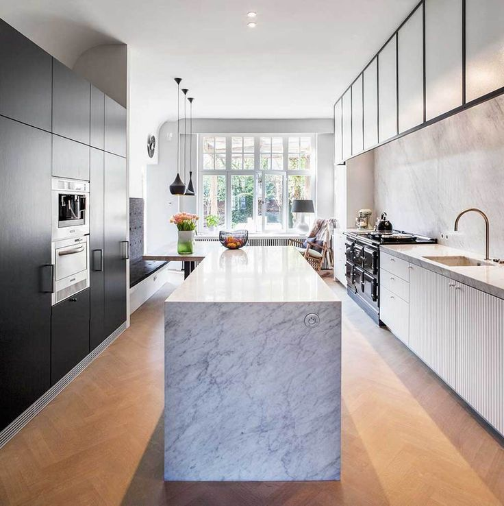 Cooking In Monochrome: Kitchens in Black & White