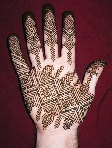 Mauritanian inspired by Nomad Heart Henna, via Flickr