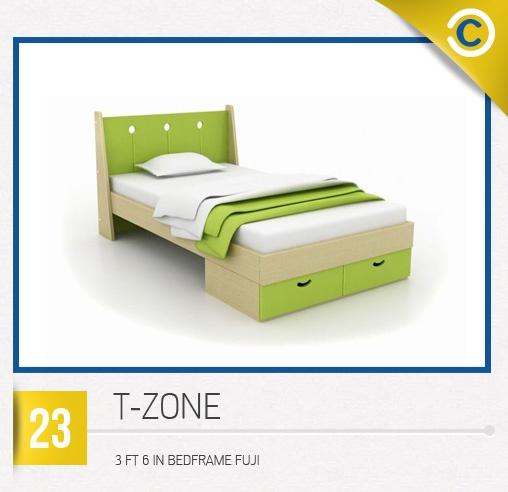 T-ZONE 3 FT 6 IN Bedframe Fuji #MyDreamHome