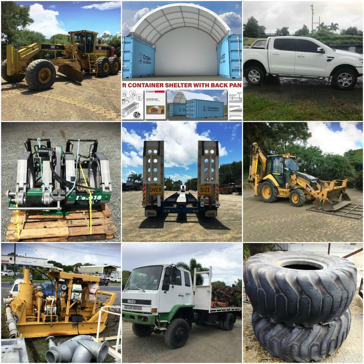 Get in quickly and bid for a range of Plant and Machinery available here;
