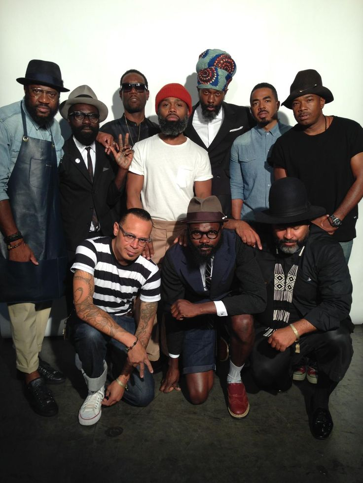 So much cool in one pic. Couple of my favorite designers. STACK-ALY    Brooklyn Circus