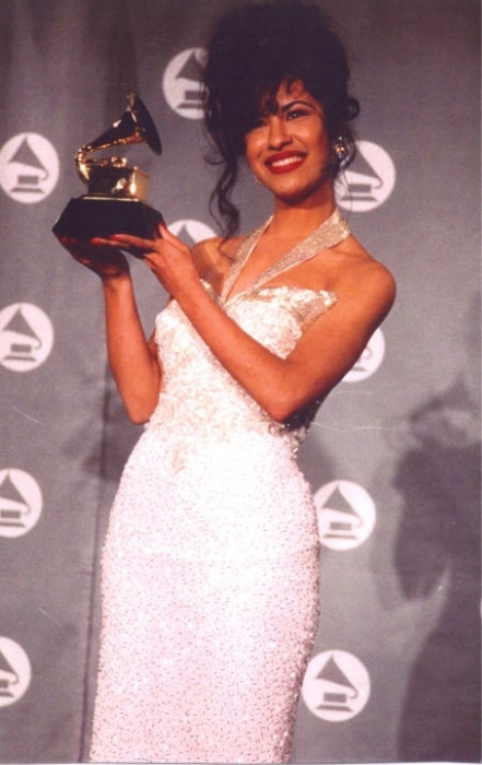 Selena (the original).  A pioneer in Latin crossover music, she embodied a true spirit and passion for life.