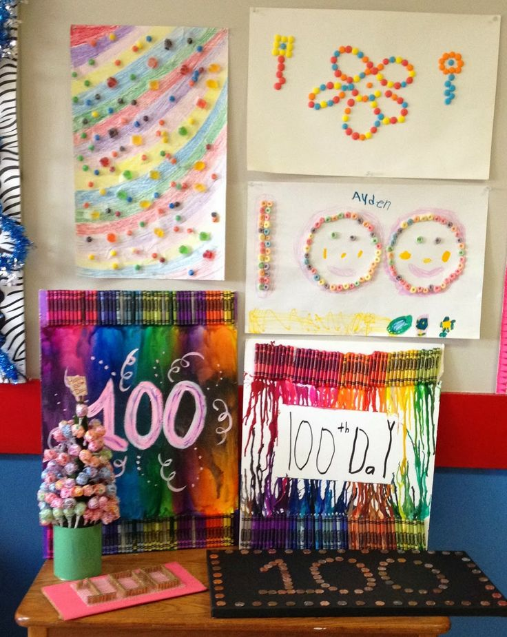 Doodle Bugs Teaching {first grade rocks!} - 100th Day projects