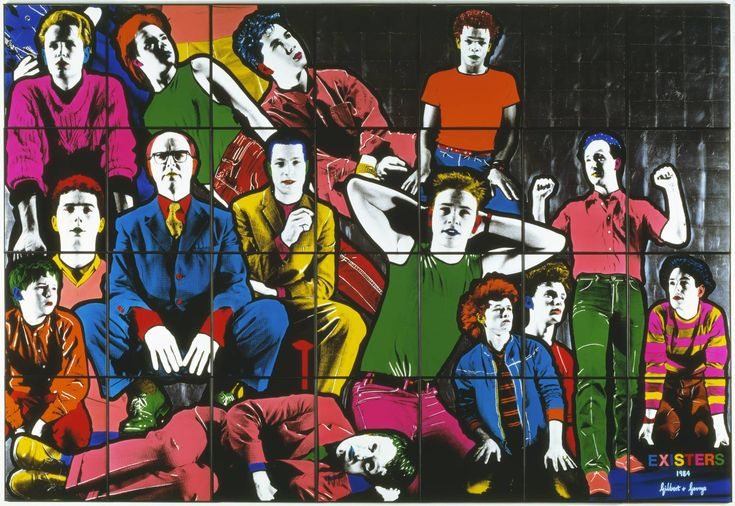 Gilbert & George 'Existers', 1984 © Gilbert & George