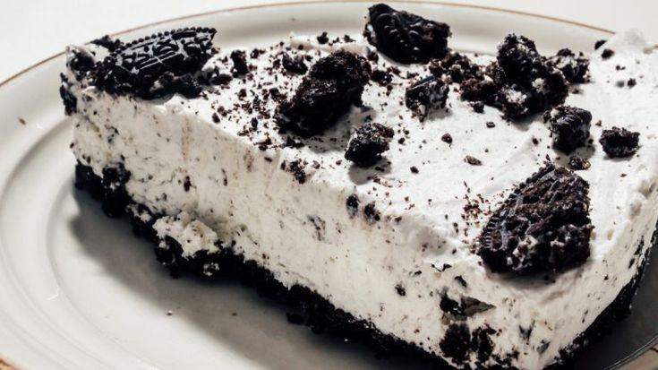 Cheesecake cu biscuiti Oreo fara cuptor