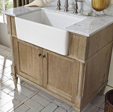 17 Best Images About Apron Front Sinks Used In Bathrooms On Pinterest Vanities Sinks And Bath