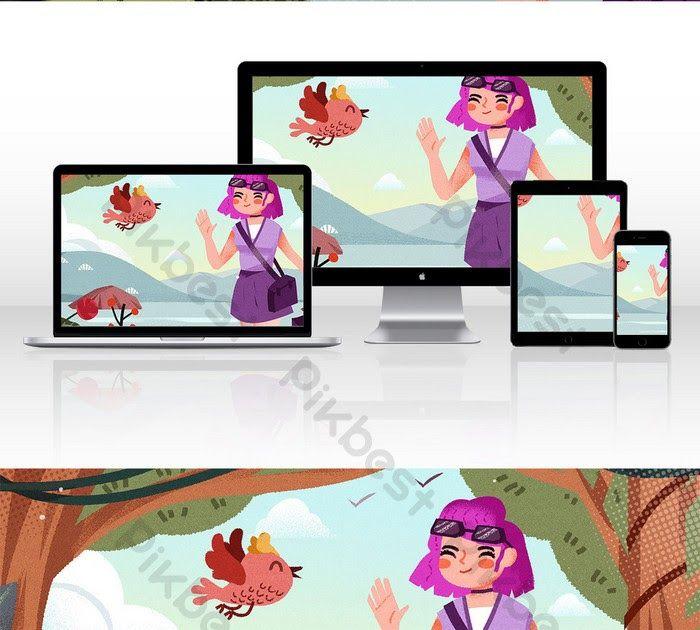 Gambar Animasi Ruang Kelas