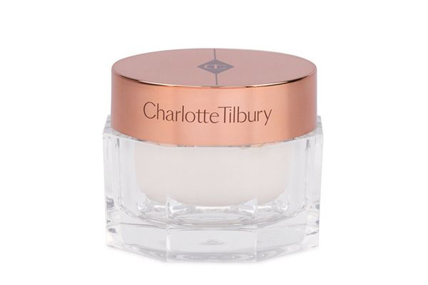 Charlotte Tilbury WonderGlow Instant Soft-Focus Beauty Flash ($100). It illuminates by stealing the sun's UV light and reflecting it—on the skin. (Over time, peptides smooth wrinkles and boost collagen, too.) Use it in the morning after moisturizing; during the day, tap it on over makeup to refresh your look.