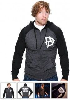 Dean Ambrose Models New Hoodie On WWE Shop - StillRealToUs.com