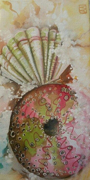 Seafoam by Annette Mansfield