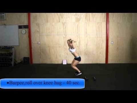 ZCUT #7 INTERVAL TRAINING 12 MINUTI 3 ROUNDS - 40 sec. di lavoro per ogni esercizio - no stop tra un esercizio e il successivo - impostate il vostro timer su 15 intervalli da 40 sec. -  • Sumo jump squat to jump squat • Side hops • Burpee,roll over.knee hug • Mountain climbers • Plank(mani-gomiti)