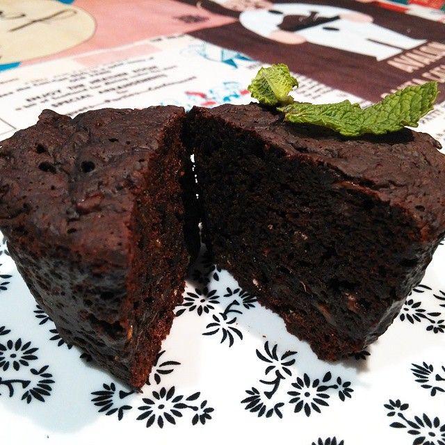 bizcocho de chocolate al microondas. laopiniondesara