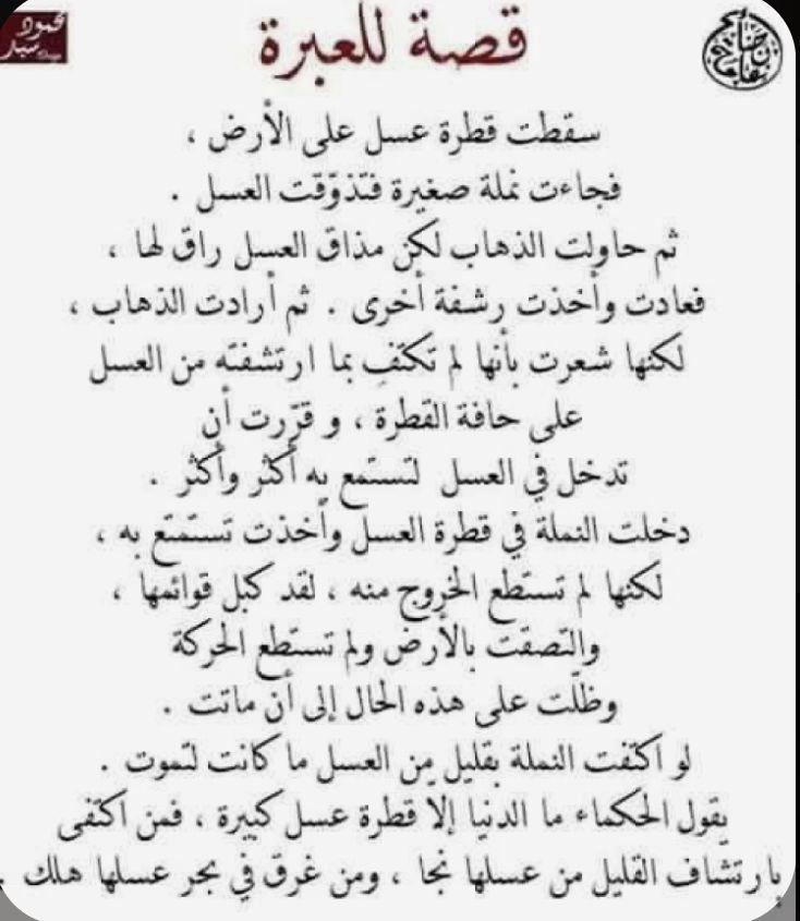 Pin By Fatima Ff On قصص وع بر In 2020 Wisdom Quotes Life Wisdom Quotes Islamic Phrases