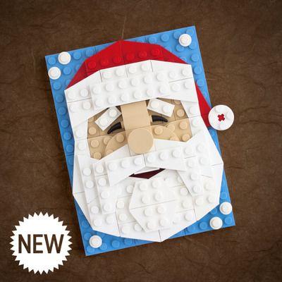 Brick sketch kit - santa