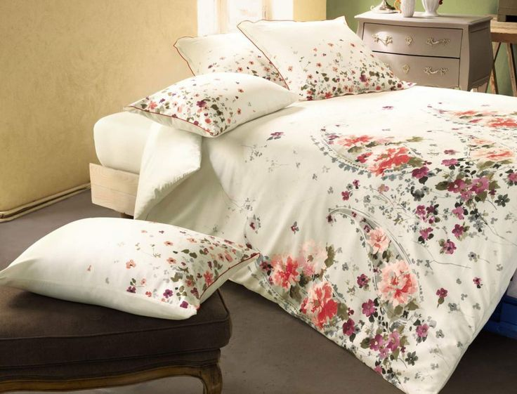 les 263 meilleures images du tableau textil bed linge de lit sur pinterest couettes housses. Black Bedroom Furniture Sets. Home Design Ideas