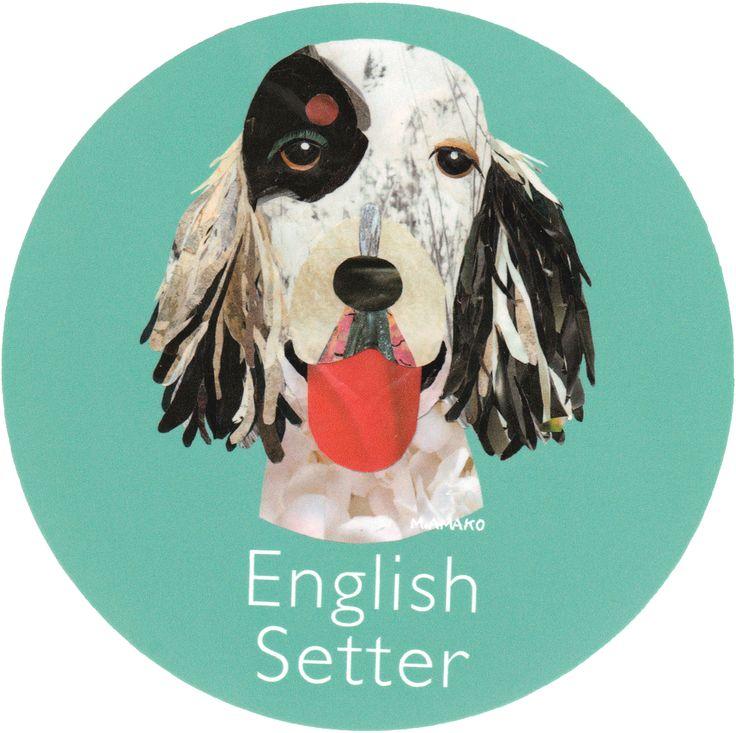 マイ @Behance プロジェクトを見る : 「010   English Setter」 https://www.behance.net/gallery/42194939/010-English-Setter