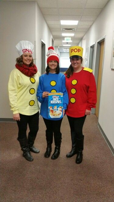 Snap, Crackle, Pop Halloween Costume