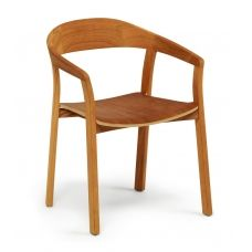 Armlehnstuhl Bord stapelbar von Weishäupl