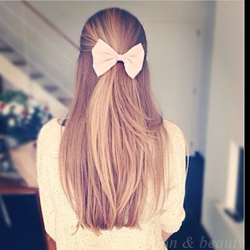 My hair style I would wear everyday at school until the end of school