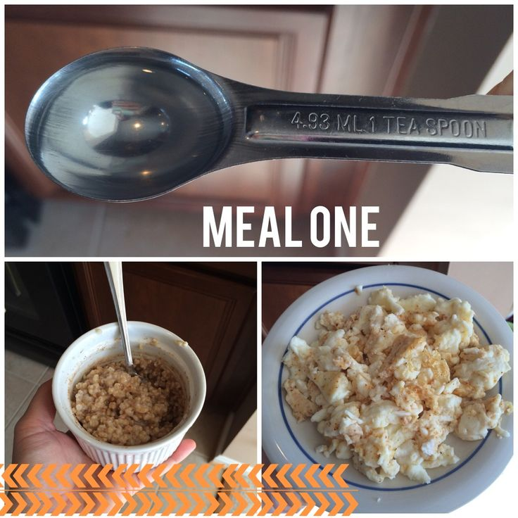 21 Day Fix - 3 Day Quick Fix Meal Plan