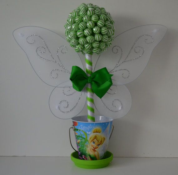 Small Lollipop Tinkerbell Topiary by EdibleWeddings on Etsy, $39.99