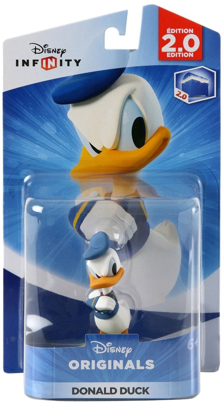 Disney Infinity: Disney Originals (2.0 Edition) Donald Duck Figure - Not Machine Specific. Disney Infinity: Disney Originals (2.0 Edition) Donald Duck Figure - Interactive game piece for Disney Infinity Starter Pack. Works with all Disney Infinity game platforms. Join in on toy-flinging Duck-feathered fun! Add a whole host of magic to your.