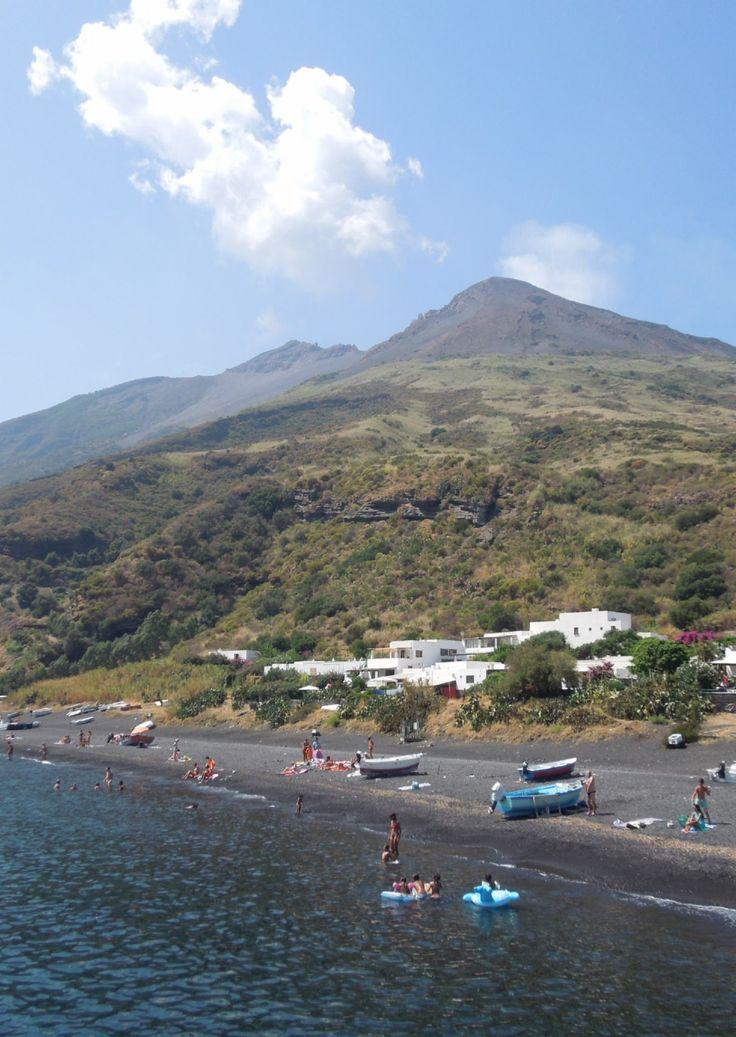 Stromboli Volcano, Aeolian Islands, Sicily