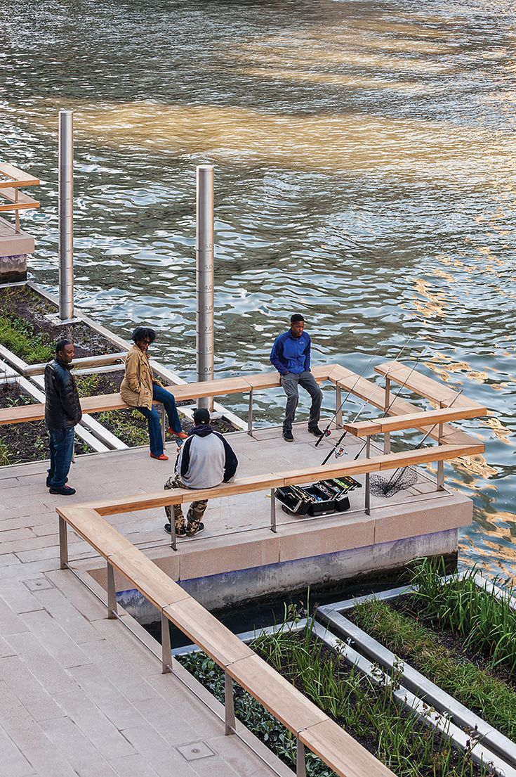 """BY JANE MARGOLIES FROM THE MARCH 2017 ISSUE OF LANDSCAPE ARCHITECTURE MAGAZINE. """"Isn't it hot?"""" Gina Ford, ASLA, asked excitedly, waving a well-jacketed arm around her on a cold morning this past f…"""