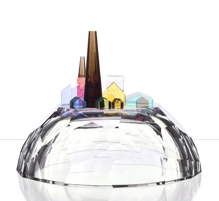 Studio Dechem - Glass Town http://dechemstudio.com/txt/products/glass-town.html