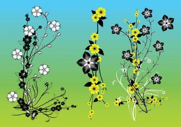 chinese bloemen vector kunst